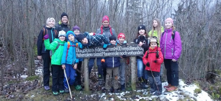 Die Mankei auf der Burgsuche in Staudach – 18.02.2016