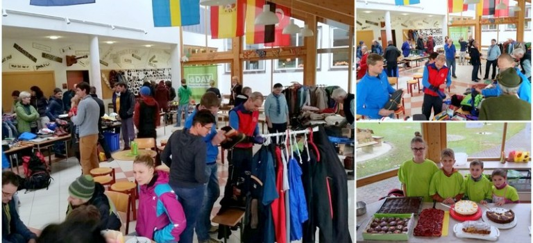 Bergsteigerflohmarkt – ein voller Erfolg