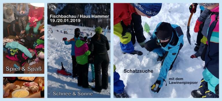 Fischbachau/Haus Hammer 19./20.01.2019