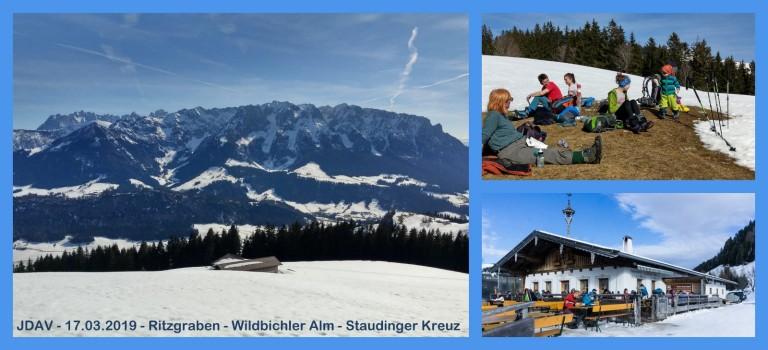 Wanderung zur Wildbichler Alm – 17.03.2019